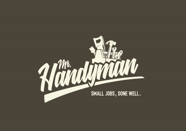mr handyman, nano, nano media, nanomedia.no, logo, logodesign, lage logo,